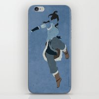 korra iPhone & iPod Skins featuring Korra by JHTY