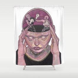 I against I Shower Curtain