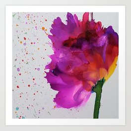 Burst of Color Art Print