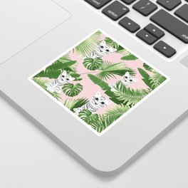 Baby Cat in the Jungle #1 (Kids Collection) #tropical #animal #decor #art #society6 Sticker