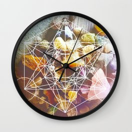 backyard stones Wall Clock