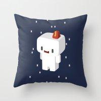 selena gomez Throw Pillows featuring GOMEZ by Pajarona