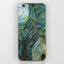 Stormy night iPhone Skin