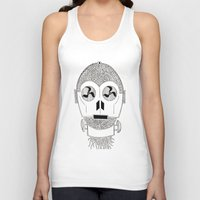 c3po Tank Tops featuring Celtic C3Po by ronnie mcneil