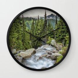 Top of Myrtle Falls Wall Clock