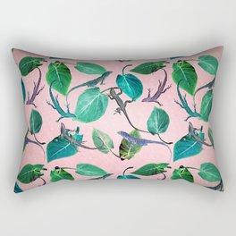 Mayfair Lizards and Leaves Rectangular Pillow