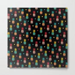 Pineapples! Metal Print