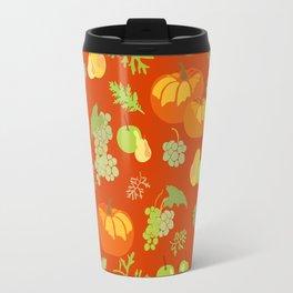Autumn abundance pattern Travel Mug