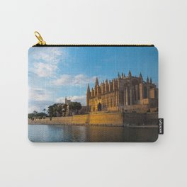 Day to night on Cathedral of Palma de Mallorca Carry-All Pouch