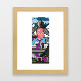 James Stirling Tribute Framed Art Print