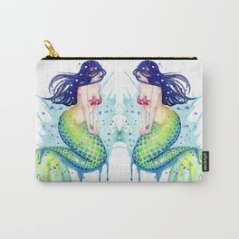 Mermaid Splash Carry-All Pouch