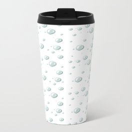 DEW DROPS Metal Travel Mug