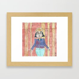 Adrienne Framed Art Print