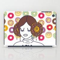 princess leia iPad Cases featuring Princess Donut Leia by afrancesado