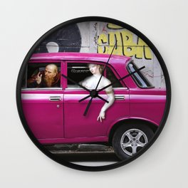 Suzanne and the moska Wall Clock