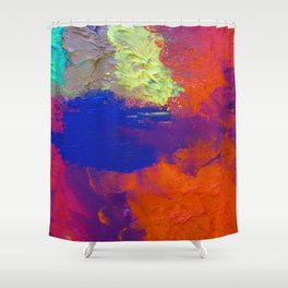 Untouched and Still Possible Shower Curtain
