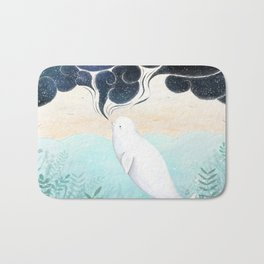 Beluga Dreams Bath Mat