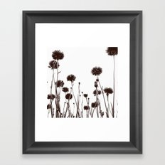 FLOWER 030 Framed Art Print