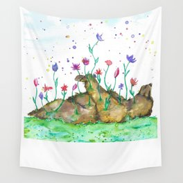 Creation of Bear Wall Tapestry