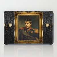 brad pitt iPad Cases featuring Brad Pitt - replaceface by replaceface
