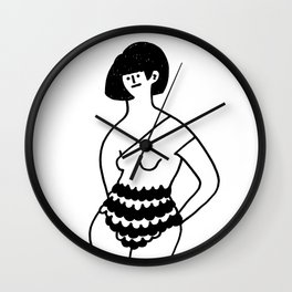 """""""Can i take your picture? Yes you may."""" Wall Clock"""
