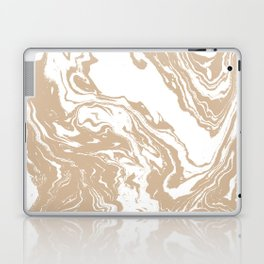 Masago - spilled ink abstract marble painting watercolor marbling cell phone case Laptop & iPad Skin