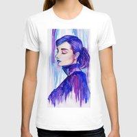 audrey hepburn T-shirts featuring Audrey Hepburn by VivianLohArts