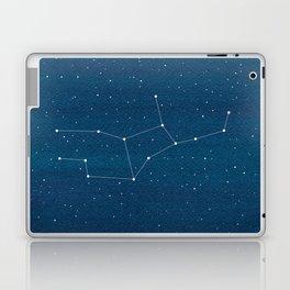 Virgo zodiac constellation Laptop & iPad Skin