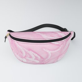 Wattle and kaleidoscope in pink Fanny Pack