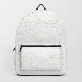Dublin White on Gold Street Map II Backpack