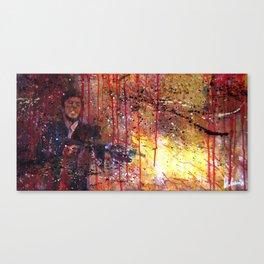 Tony Montana in Scarface Canvas Print