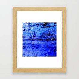 psychedelic sky clouds pattern wsdbi Framed Art Print