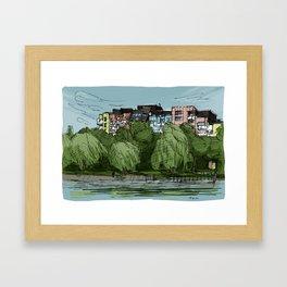 Planufer Framed Art Print