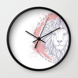 Zodiac sign - Leo Wall Clock
