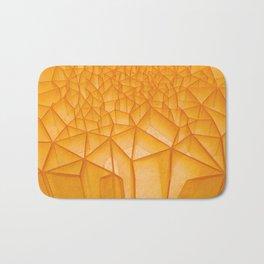 Geometric Plastic Bath Mat