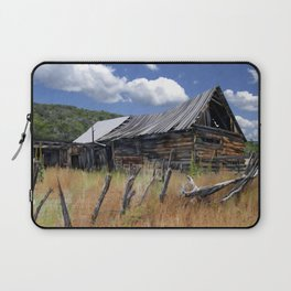 Old Barn, Trampas, New Mexico Laptop Sleeve