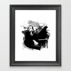 Glenn Gould Framed Art Print