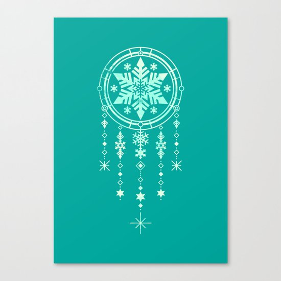 Frost and Dream Canvas Print