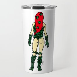 Superhero Butts - Green Ivy Travel Mug