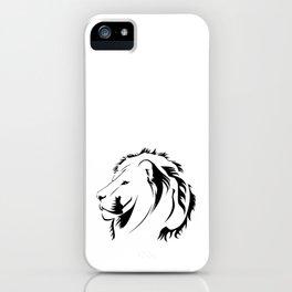 Lionhead Tribiales iPhone Case