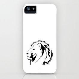 Lionhead Tribiales iPhone Case