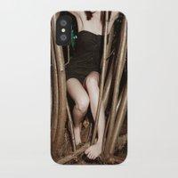 nicolas cage iPhone & iPod Cases featuring Nicolas Caged I by Linas Vaitonis