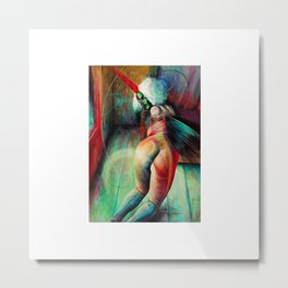 The temptation of the unicorn Metal Print