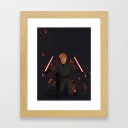 The Master (Dark) Framed Art Print