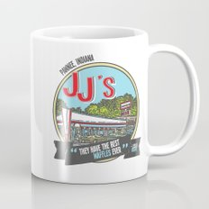 jj's diner, pawnee, indiana Mug