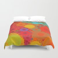 circles Duvet Covers featuring Circles by Mr and Mrs Quirynen
