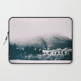 mountains #blackandwhite #photography Laptop Sleeve