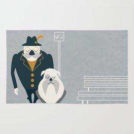 Mr. Mustachio Rug