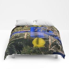 Majorelle Garden Reflection Comforters