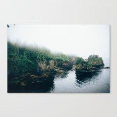 Cape Flattery Fog Canvas Print